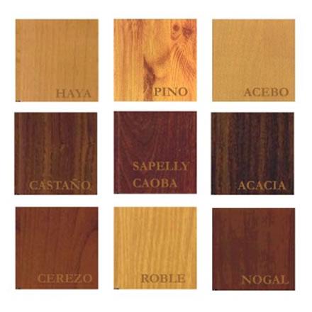 Aluminios severo s l productos lacados - Pinturas de madera ...
